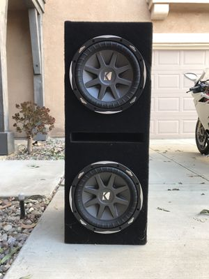 """Kicker 10"""" CVX Subwoofers for Sale in Rancho Cucamonga, CA"""