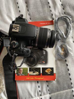Canon EOS Rebel xs/1000D for Sale in Alexandria, VA