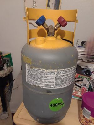 Freon recovery tank 400 PSI capability for Sale in Fort Worth, TX
