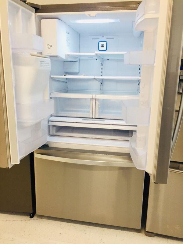 "🔥🔥Kenmore//36"" stainless steel refrigerator French door 6 months warranty 🔥🔥"