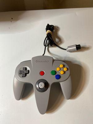 Official Genuine Nintendo 64 Controller - N64 - Grey for Sale in Elk Grove, CA