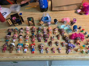 Lol dolls bundle for Sale in Hesperia, CA