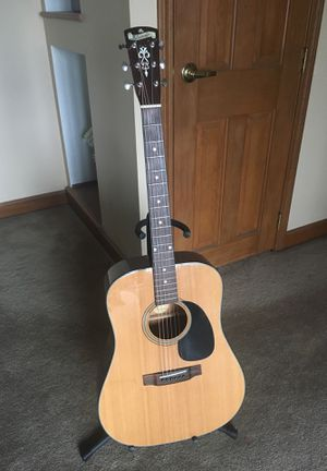 Blue Ridge BR-43 Acoustic Guitar with case for Sale in Denver, CO