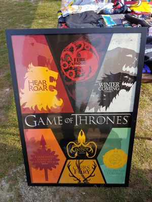 Large game of thrones picture for Sale in Taunton, MA