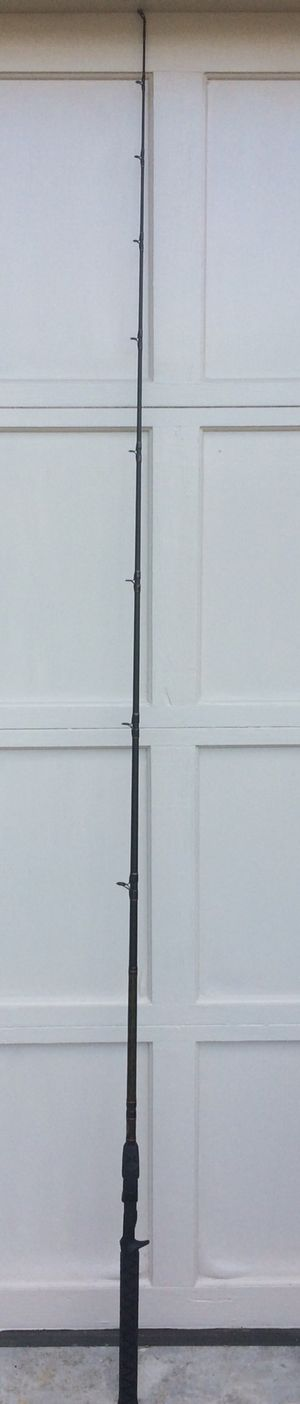 Offshore angler baitcast fishing rod gold cup for Sale in Nottingham, MD