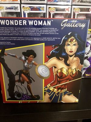 DC Comics Wonder Woman Gallery Statue Action Figure Collectible Marvel New Vintage for Sale in Long Beach, CA