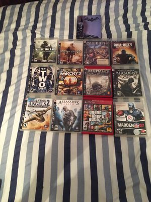 PS3 games for Sale in Fitzgerald, GA