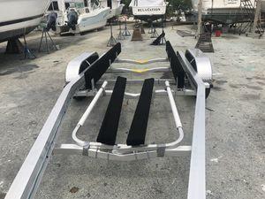 New Sea Hawk Aluminum trailer, 24-27ft, 10k, $4600 plus tax for Sale in Fort Lauderdale, FL