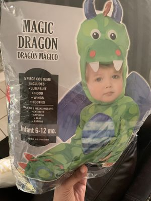 Infant 6-12 months Dragon Halloween costume for Sale in Decatur, GA