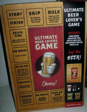 Ultimate Beer Lovers Game Set With Pretzels And Kettle Chips for Sale in Chicago, IL
