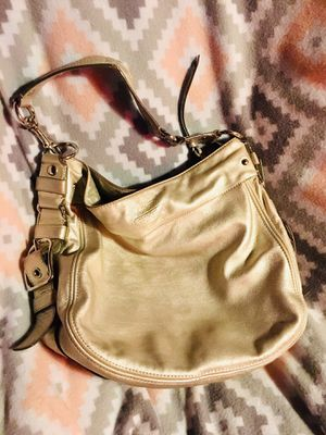 ** Coach leather Metallic Goldish Hobo Purse Bag!** for Sale in Denver, CO