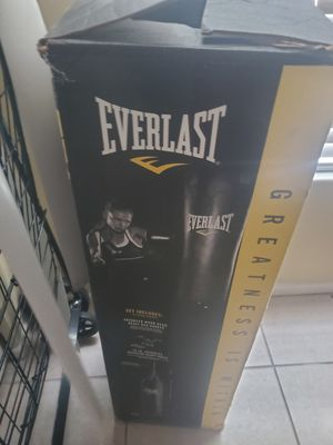 Everlast (punching equipment bag) for Sale in St. Petersburg, FL