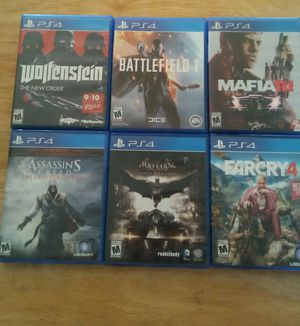 Ps4 video games for Sale in Brooks, OR