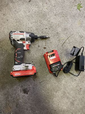 Like new 20W impact drill with z2 batteries and charger for Sale in Westminster, CA