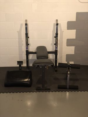 Competitor weight bench for Sale in Toledo, OH