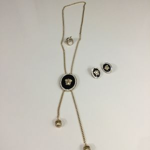 Trendy Designer Necklace With Matching Earring and Ring for Sale in Riverdale Park, MD