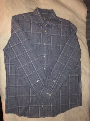 Men's Michael Kors striped button up shirt for Sale in Spring Valley, CA