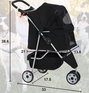 Dog/Cat Pet Stroller Small/Medium Dog for Sale in Chicago, IL