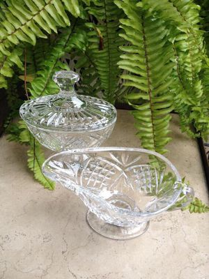 Shannon crystal sugar and creamer set for Sale in Fremont, CA