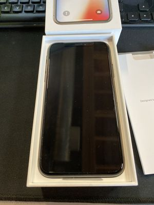 iPhone X -256GB Space Grey - AT&T unlocked for Sale in Los Angeles, CA