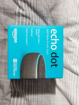 Amazon Echo Dot Gen 3 Newest Version FACTORY SEALED for Sale in Portland, OR