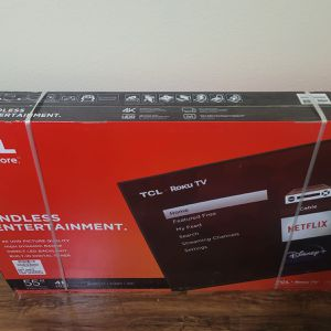 "55"" TCL Series 4 Roku TV for Sale in Arlington, TX"