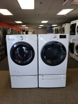 Kenmore electric front load set washer and dryer in great condition for Sale in McDonogh, MD