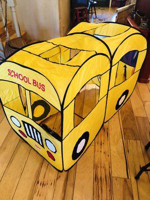PlayHut PopUp School Bus tent for Sale in Payson, AZ