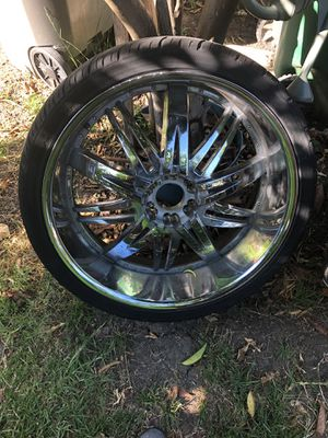 26 inch rims 6 lugs for sub for Sale in Oakland, CA