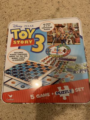 Toy story 3 five different games for Sale in Orangevale, CA
