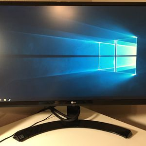 "LG 24"" computer monitor for Sale in Richmond, TX"