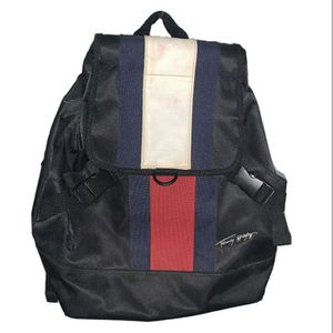 Vintage Tommy Hilfiger Purse Backpack Bookbag Flag Adjustable Straps Gift 90s for Sale in Colorado Springs, CO