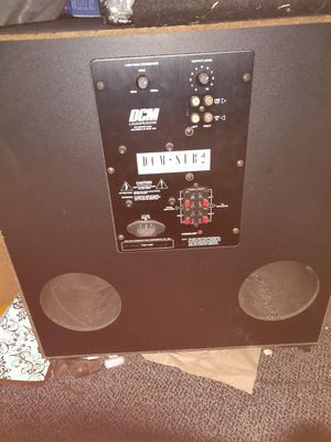 Home audio subwoofer for Sale in West Covina, CA