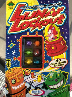Lunar lockout game puzzle for kids for Sale in Whittier, CA