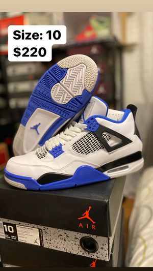 Jordan 4 Motorsport Size 10 for Sale in Temecula, CA