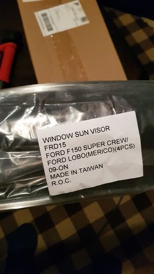 Window Sun Visor for Ford F150 for Sale in Rockville, MD