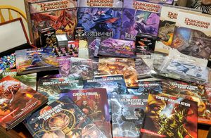 HUGE 5E Dungeons and Dragons RPG Collection for Sale in Orlando, FL
