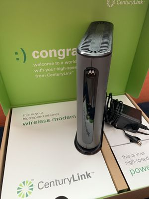 CenturyLink Cable Modem 3.1 for Sale in Mesa, AZ
