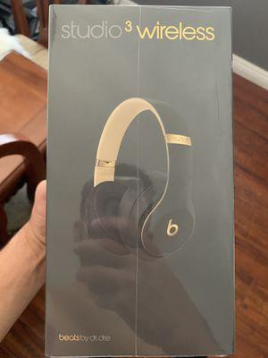 Beats Studio 3 wireless headphones-skyline collection-Shadow Gray for Sale in Whittier, CA