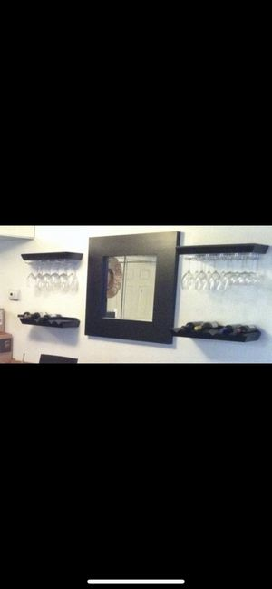 Pottery barn entertainment bottle and glass holders. for Sale in Pembroke Pines, FL