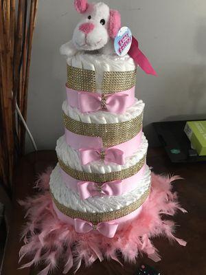 Baby shower pamper cake for Sale in Davie, FL