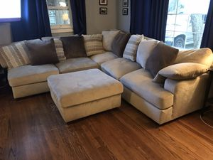 Large comfy sectional for Sale in Durham, NC