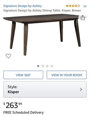 NIB Ashley Furniture Dining Table for Sale in Dublin, OH