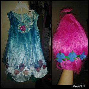 Cute Princess Poppy from Trolls Costume❤ for Sale in San Jose, CA