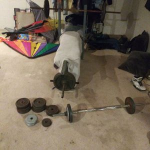 Bench And Weights For Sale for Sale in Lakewood, WA
