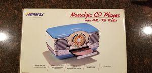 New Memorex Nostalgic CD Player with AM/FM Memories Radio for Sale in Homer Glen, IL