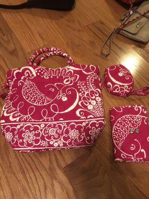 Vera bradley small tote wallet change purse for Sale in Linthicum Heights, MD