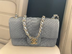 Chanel Python Classic Flap Bag for Sale in Gardena, CA
