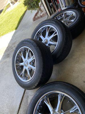 Rims&tires Tahoe Chevy Silverado for Sale in Fontana, CA