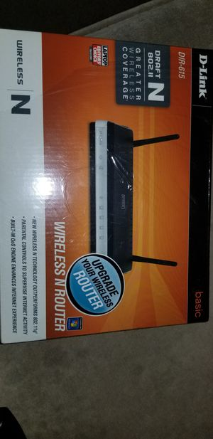 D-link wireless router for Sale in Montclair, CA